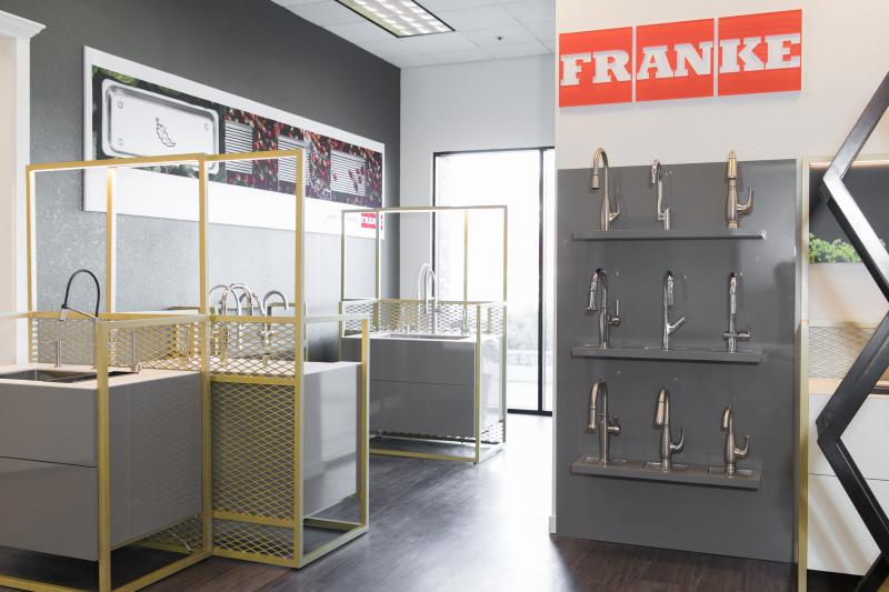 Franke launches new retail concept in u s market - Franke showroom ...
