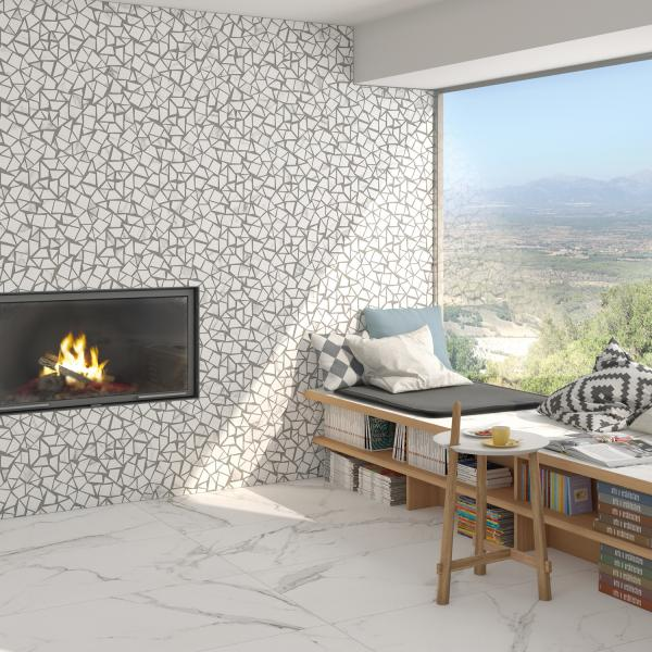Vives Doney Tile Wall application