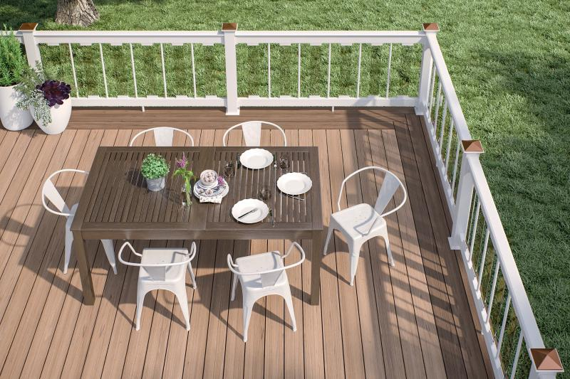 Deckorators Vault composite decking