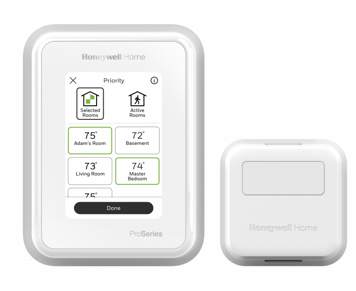 Honeywell T10 Pro thermostat with sensor