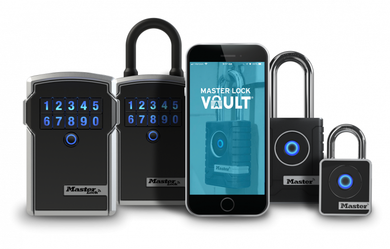 Master Lock bluetooth lock system
