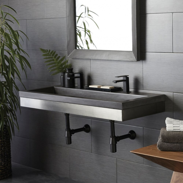 Native Trails Zaca wall-hung sink