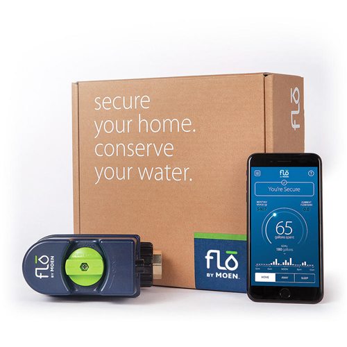 Flo by Moen water monitor system