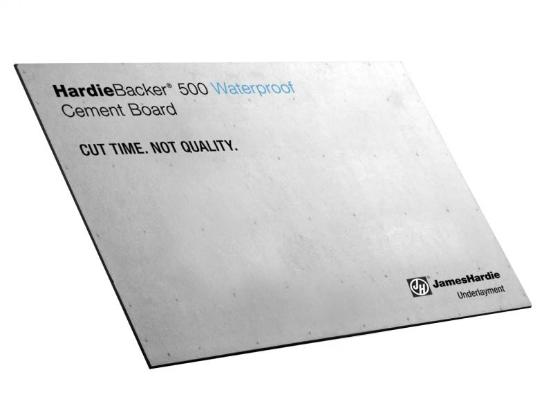 HardieBacker 500 Waterproof cement board