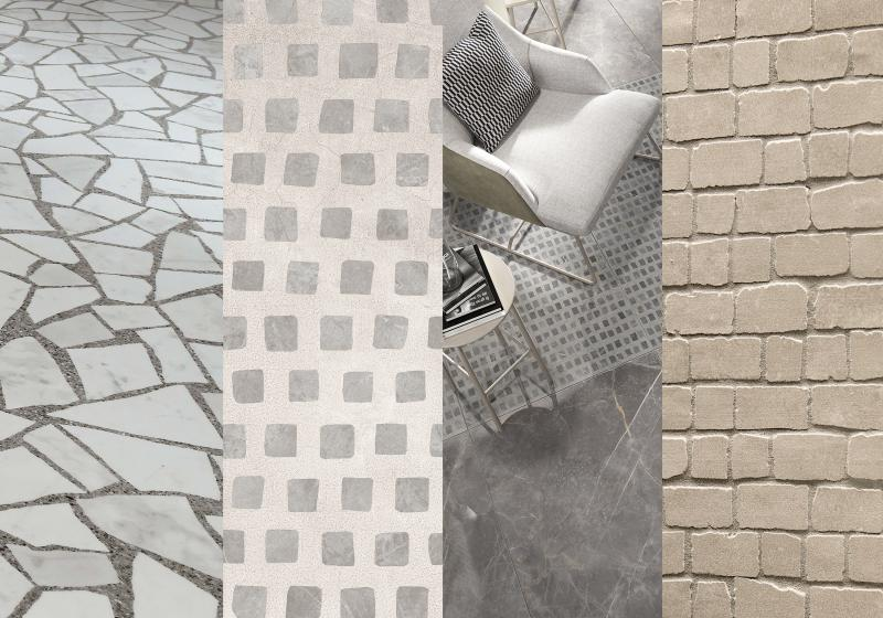 Bits & Pieces tile trend examples