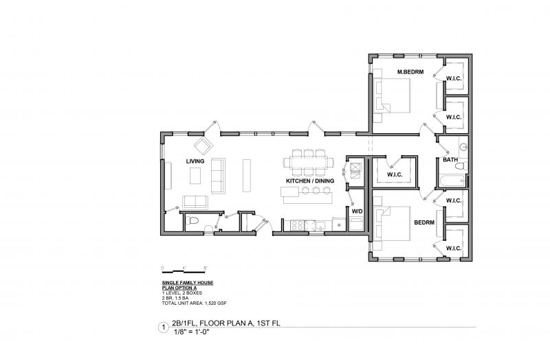 Boxabl floor plan example