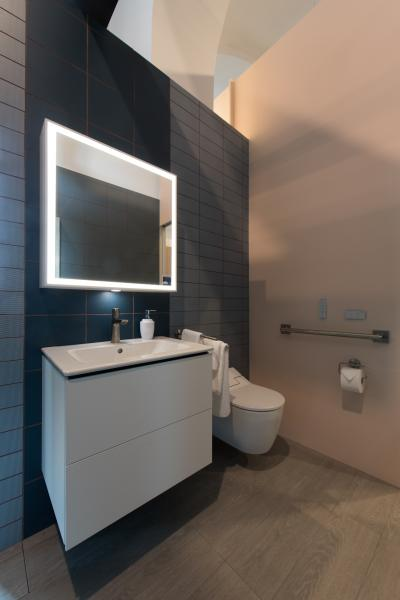 "Duravit products were used in the ""Making Room"" bathrooms"