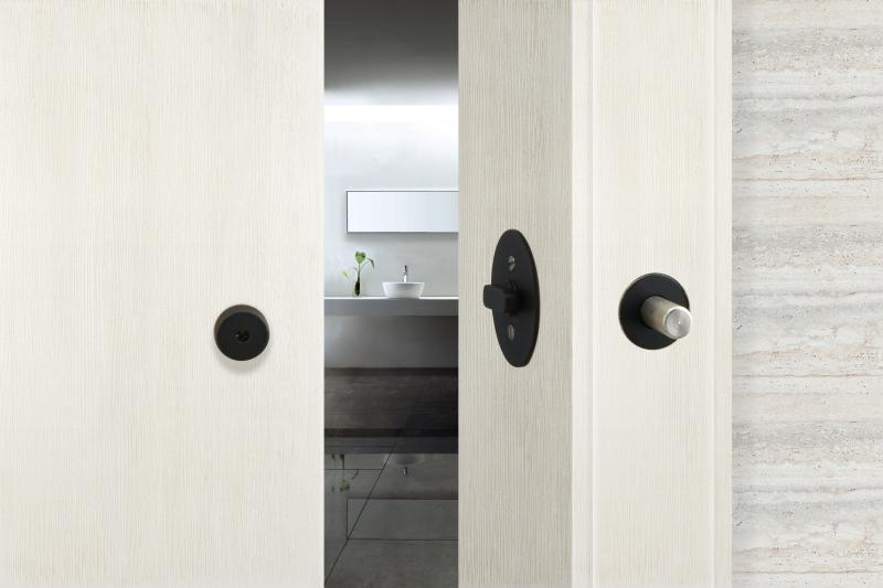 INOX privacy barn door lock will make it's IBS debut this year