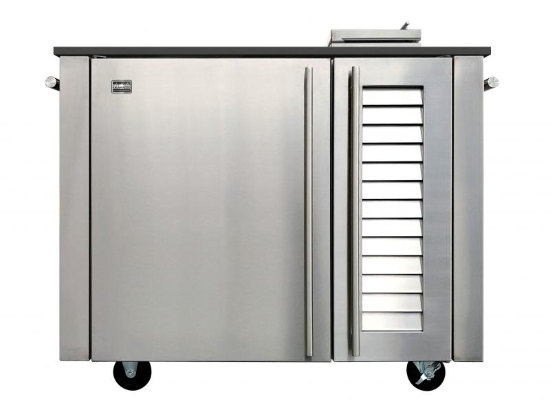 Kalamazoo smoker cabinet for outdoor kitchens