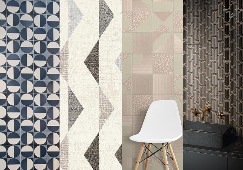 Retro Revival tile trend examples