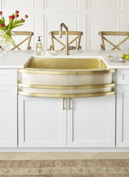 Farmhouse kitchen sink gold new product