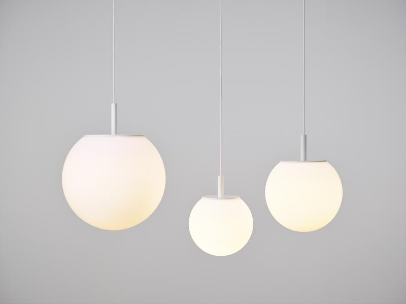 White matte pendent light Brokis