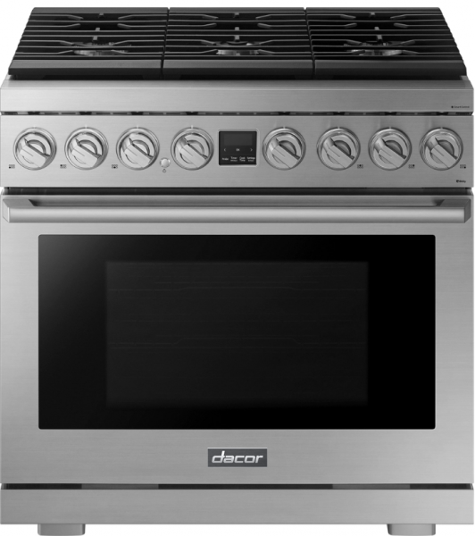 Gas range touchscreen smart home