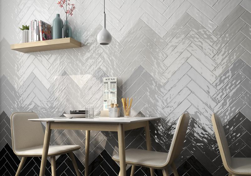 Ceramica Saloni subway tiles