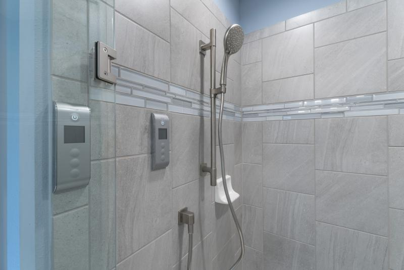 Kohler smart shower interface
