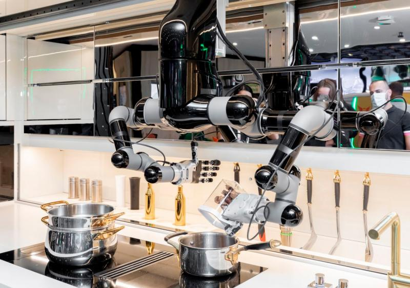 Moley robotic kitchen product
