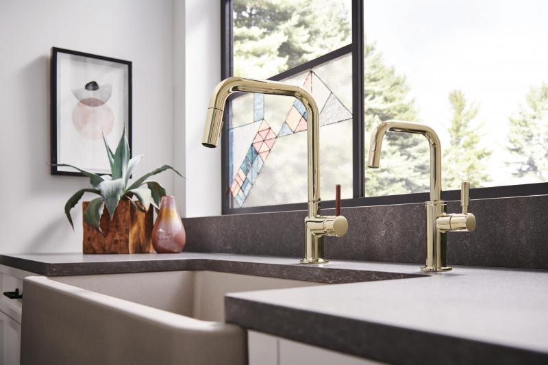 Odin kitchen faucet brizo