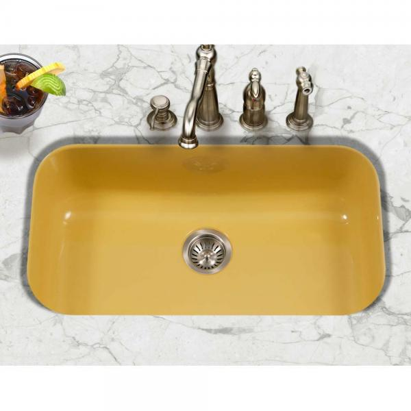 Yellow kitchen sink pantone color of the year 2021