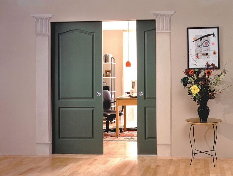johnson hardware pocket door trend