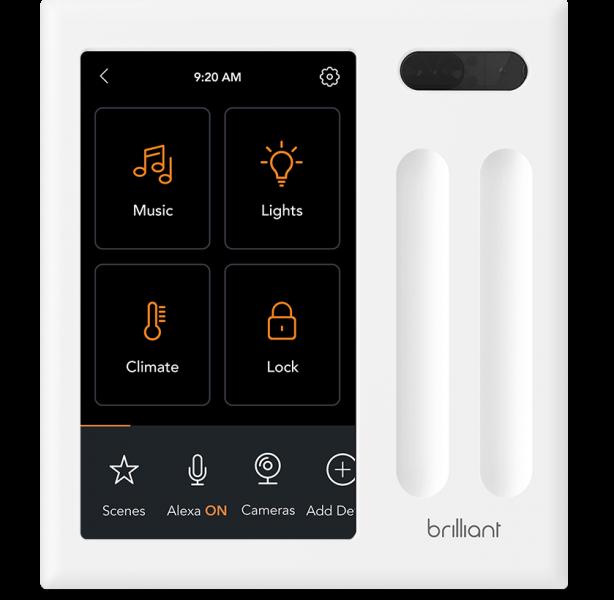 brilliant smart home switch